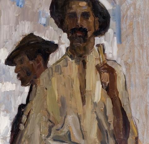 R Schweitzer - Cumpana - Doi tarani cu palarii