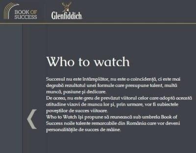 Glenfiddich, in cautarea tinerelor talente