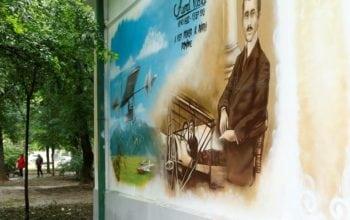 Arta urbana de la Enel