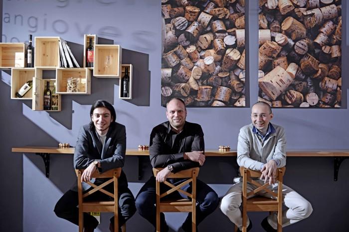 Horia Cretu, Mihai Neata si Marius Ciobotea, fondatorii Abel's