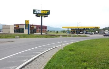 Primul Subway drive-thru din Romania
