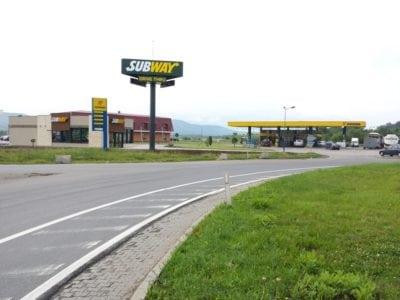 Primul Subway drive-thru din Romania