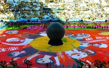 Mozaic foto de sarbatoarea fotbalului
