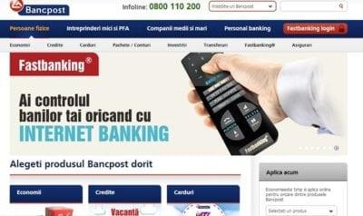 Bancpost premiata de nemti