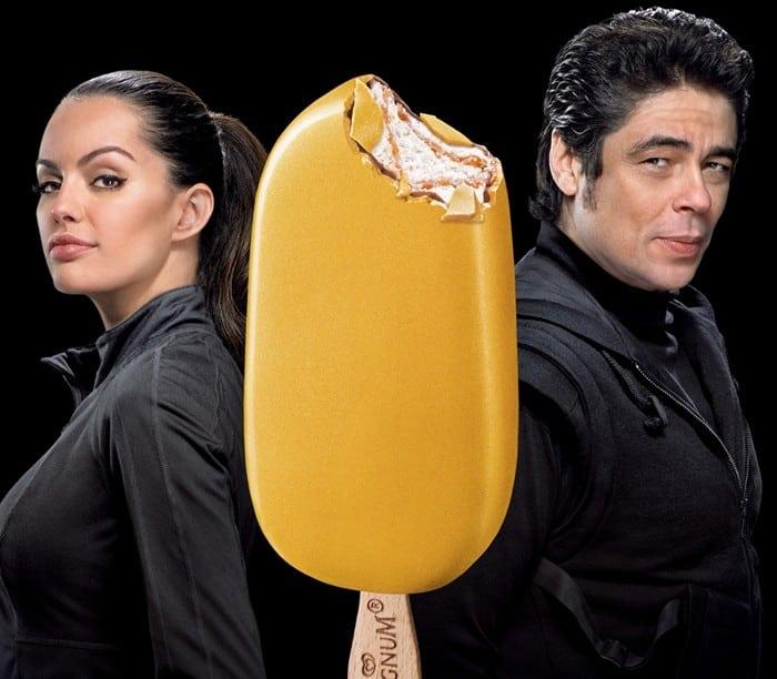 Benicio del Toro, imaginea Magnum Gold