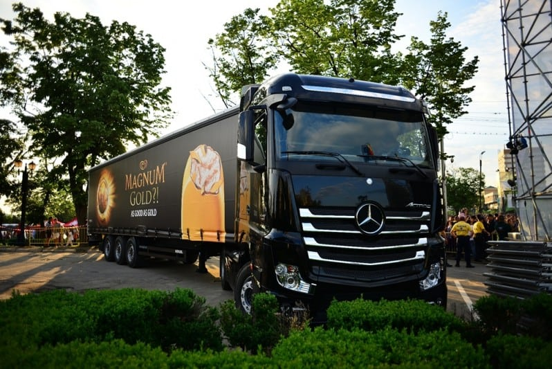 Camionul Magnum Gold