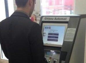 Tranzactii la ghiseu automat