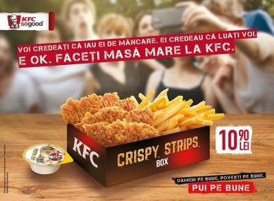 Trei agentii pentru campania integrata Crispy Strips