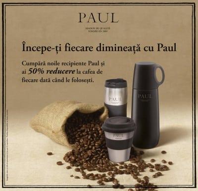 Cafeaua Paul, la purtator