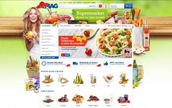 eMag si Mega Image deschid impreuna o alimentara online