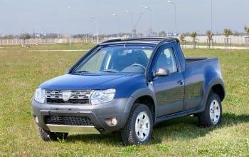 Cum arata Dacia Duster Pick-Up