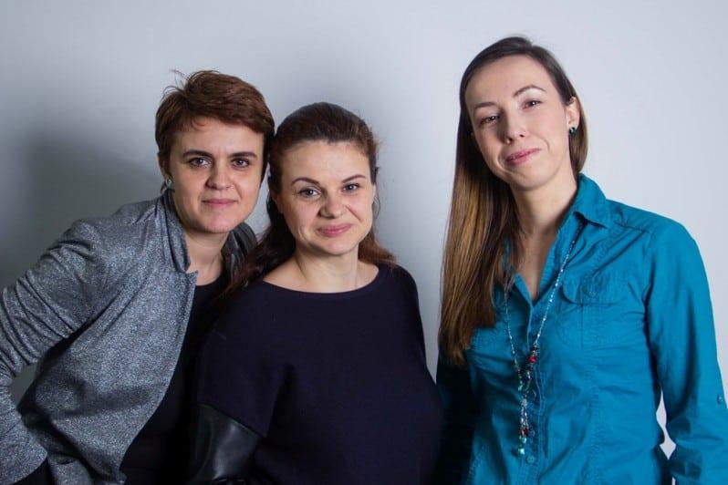 De la stanga - Cecilia Maruta, Ioana Caprar, Raluca Crisan