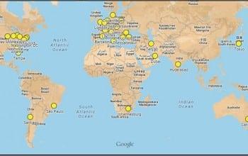 Romania, pe harta WIAD