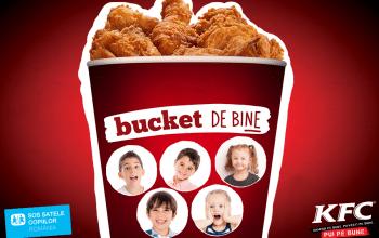 Un Bucket in sprijinul copiilor