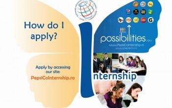 Oportunitati de internship la PepsiCo Romania