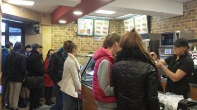 Doua noi restaurante Subway
