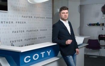 Coty si-a crescut afacerile in Romania cu 9%
