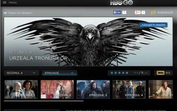 HBO GO vine si la RCS & RDS