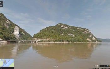 Calator pe Dunare cu Google Street View
