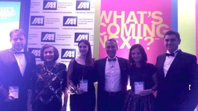 Trei romani, pe scena IAA Inspire Awards
