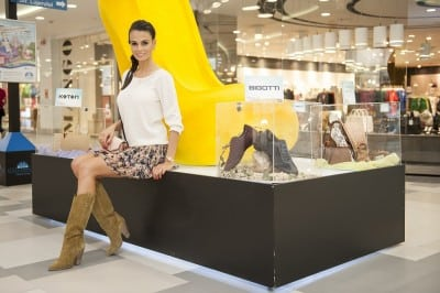 Anca Serea sustine Shoes & Bags Fair