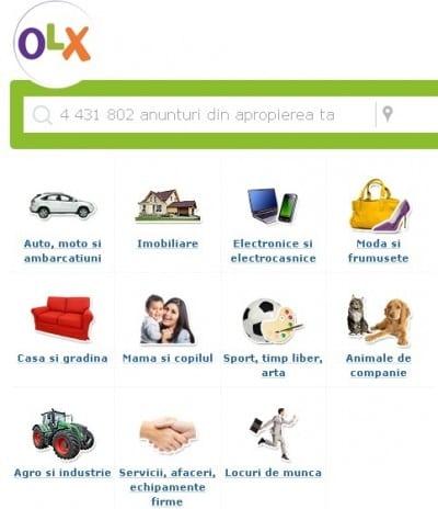 OLX.ro, de doua ori mai mare decat Mercador.ro
