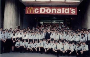 McDonald's Romania implineste 20 de ani