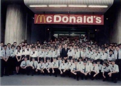 McDonald's Romania implineste 20 de ani