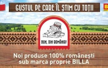 Bun, din Romania la Billa