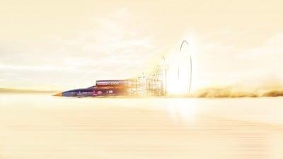 Masina supersonica la Bucuresti