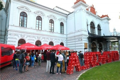 Pop-up Store Coca-Cola