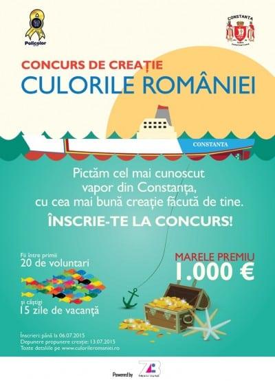 Culorile Romaniei pe vapoarele simbol de la Marea Neagra