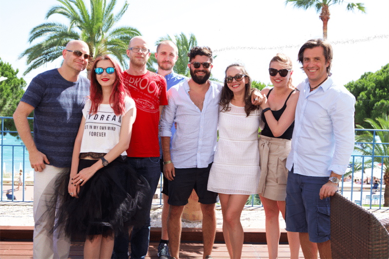 Echipa McCann Erickson Romania la Cannes 2015