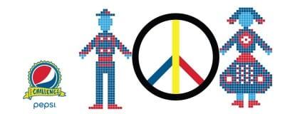 #PepsiChallenge filmeaza Romania din spatiu