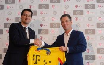 Telekom, sponsor principal al nationalei de fotbal
