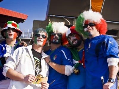 Italienii, cei mai superstitiosi suporteri din Europa