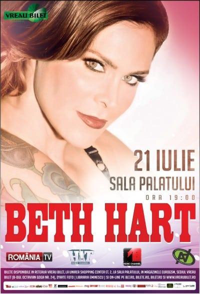 Beth Hart, implicata in campaniile romanesti