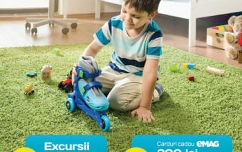 Dona invita copiii la joaca