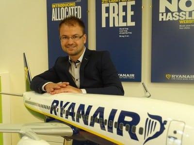 Schimbare in echipa de marketing a Ryanair