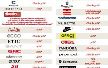 Reduceri in magazinele din Bucuresti Mall
