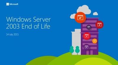 Microsoft nu mai ofera suport tehnic pentru Windows Server 2003