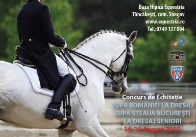 """Cupa Romaniei la Dresaj"" la Clubul de Echitatie Equestria"