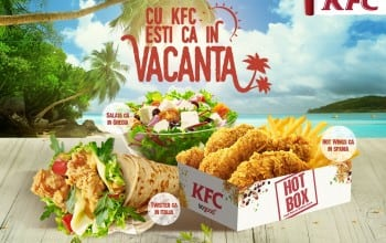 Gusturi #cainvacanta la KFC