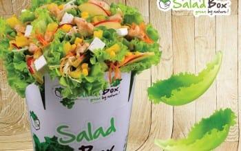 Salad Box in Plaza Romania