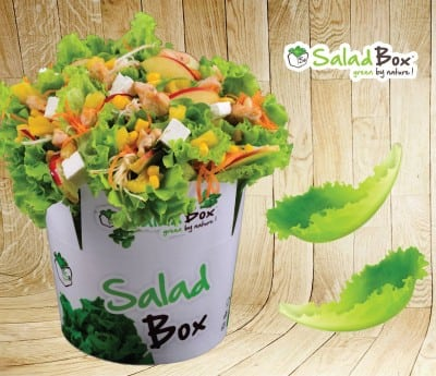 Salad Box in Plaza Romania