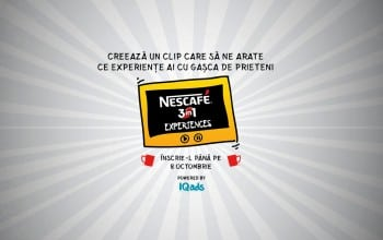 The Creator lanseaza competitia de creatie NESCAFE 3in1