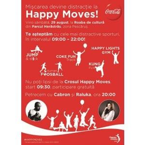 Happy Moves, cel mai nou concept de la Coca-Cola