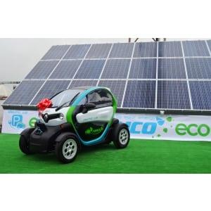 Premiera in Romania: Masina electrica alimentata de la panouri solare