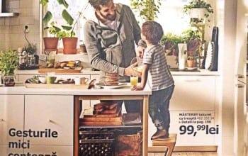 IKEA: Doar 22% dintre bucuresteni gatesc acasa