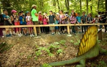 Record de vizitatori la Dino Parc Rasnov